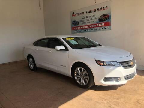 2017 Chevrolet Impala for sale at Antonio's Auto Sales - Antonio`s  3001 in Pasadena TX