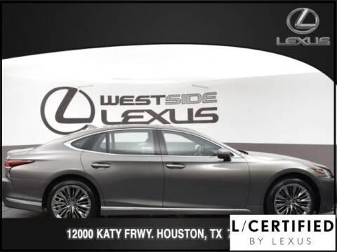 2018 Lexus LS 500 for sale at LEXUS in Houston TX