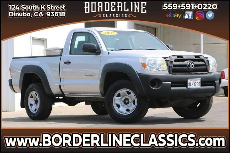 2007 Toyota Tacoma for sale at Borderline Classics in Dinuba CA