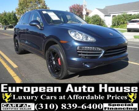 2012 Porsche Cayenne for sale at European Auto House in Los Angeles CA