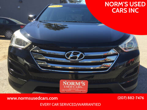 2013 Hyundai Santa Fe Sport for sale at NORM'S USED CARS INC in Wiscasset ME
