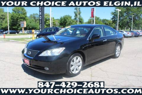 2007 Lexus ES 350 for sale at Your Choice Autos - Elgin in Elgin IL