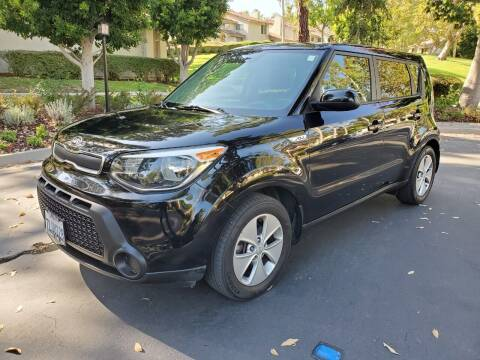 2015 Kia Soul for sale at E MOTORCARS in Fullerton CA