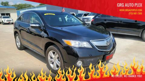 2015 Acura RDX for sale at GRG Auto Plex in Houston TX