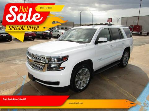 2017 Chevrolet Tahoe for sale at Scott Spady Motor Sales LLC in Hastings NE