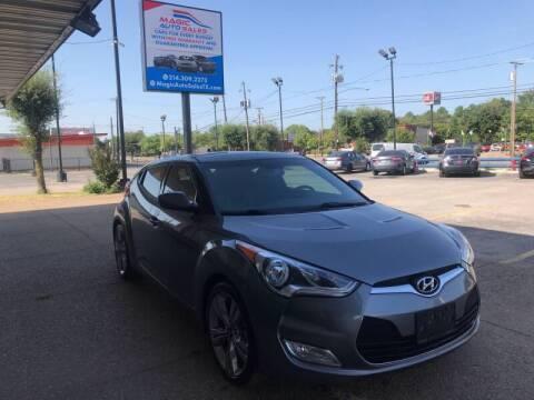 2013 Hyundai Veloster for sale at Magic Auto Sales - Cars for Cash in Dallas TX