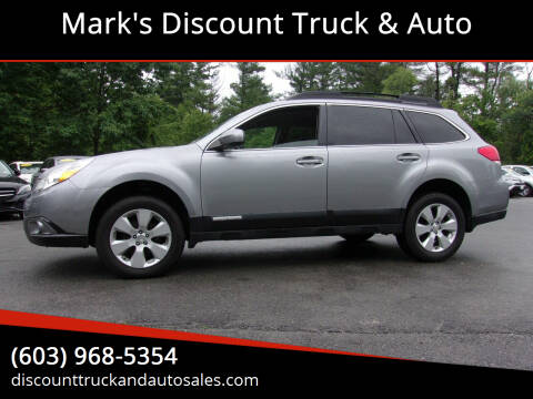 2010 Subaru Outback for sale at Mark's Discount Truck & Auto in Londonderry NH