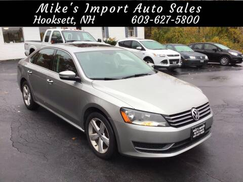 2013 Volkswagen Passat for sale at Mikes Import Auto Sales INC in Hooksett NH
