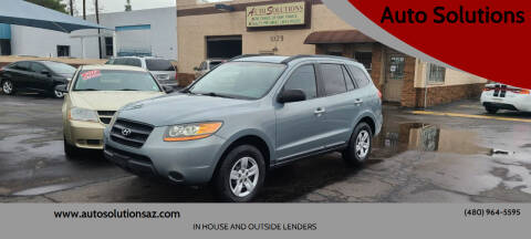 2009 Hyundai Santa Fe for sale at Auto Solutions in Mesa AZ