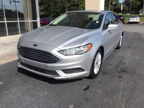 2018 Ford Fusion for sale at Credit Union Auto Buying Service in Winston Salem NC