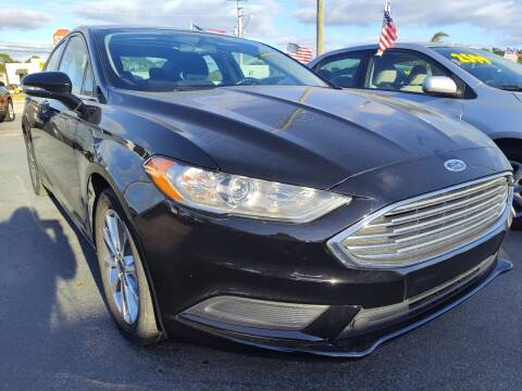 2017 Ford Fusion for sale at Celebrity Auto Sales in Port Saint Lucie FL