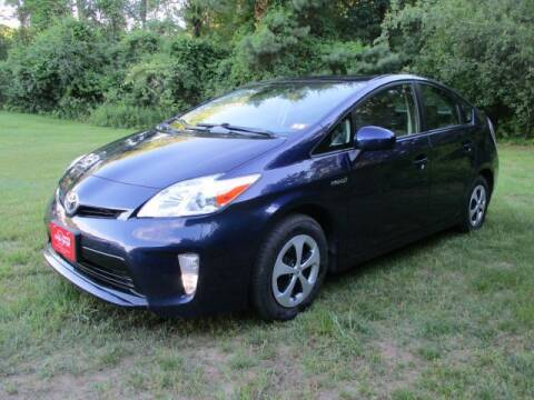 2012 Toyota Prius for sale at AUTO STOP INC. in Pelham NH