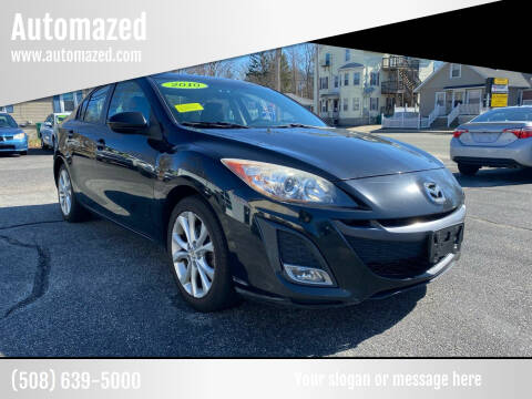 2010 Mazda MAZDA3 for sale at Automazed in Attleboro MA