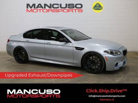 2016 BMW M5 for sale at Mancuso Motorsports in Glenview IL