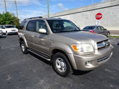 2006 Toyota Sequoia for sale at DONNY MILLS AUTO SALES in Largo FL