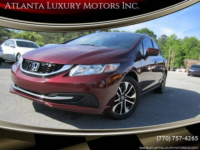 2014 Honda Civic for sale at Atlanta Luxury Motors Inc. in Buford GA