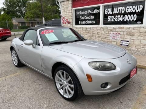 2007 Mazda MX-5 Miata for sale at GOL Auto Group in Austin TX