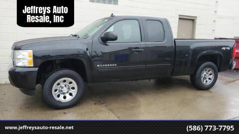 2011 Chevrolet Silverado 1500 for sale at Jeffreys Auto Resale, Inc in Clinton Township MI