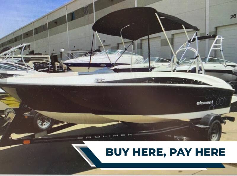 2013 Bayliner Marine for sale at E-Z Pay Used Cars in McAlester OK