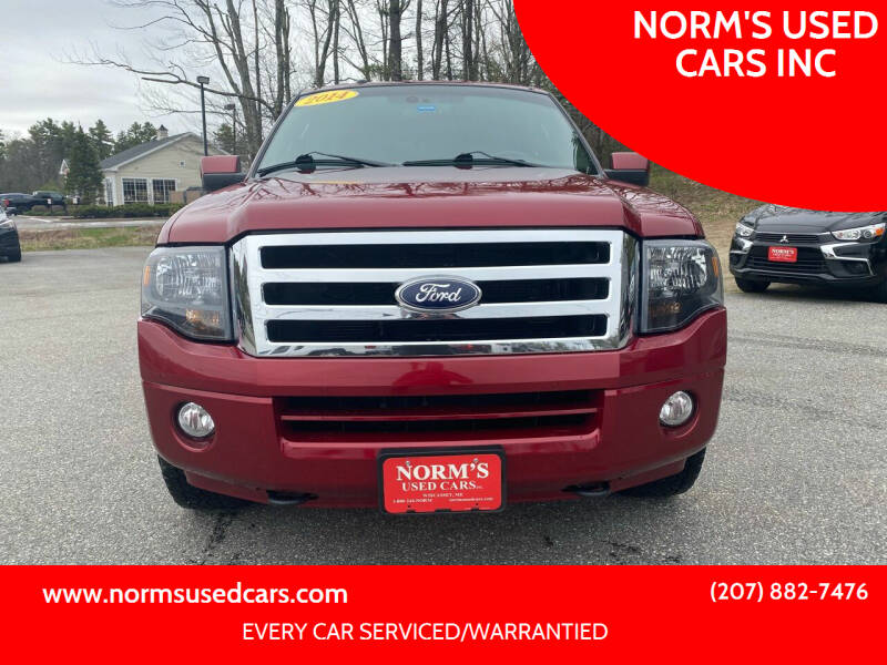 2014 Ford Expedition for sale at NORM'S USED CARS INC in Wiscasset ME