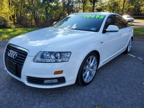 2010 Audi A6 for sale at CENTRAL AUTO GROUP in Raritan NJ