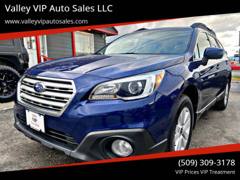 2017 Subaru Outback for sale at Valley VIP Auto Sales LLC in Spokane Valley WA
