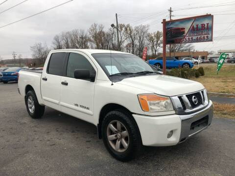 2011 Nissan Titan for sale at Albi Auto Sales LLC in Louisville KY