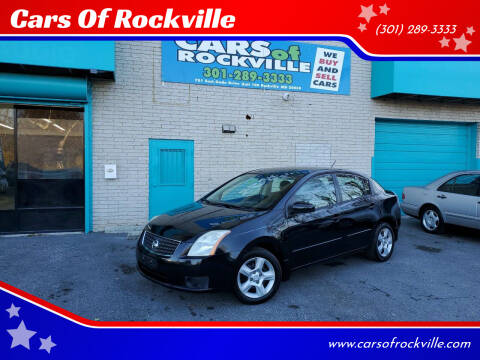 2007 Nissan Sentra for sale at Cars Of Rockville in Rockville MD