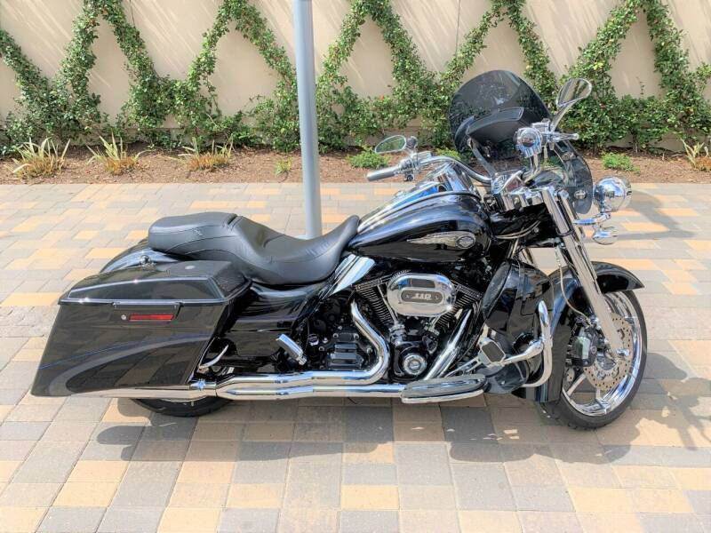 2013 Harley-Davidson CVO Road King for sale at ROGERS MOTORCARS in Houston TX