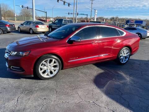2017 Chevrolet Impala for sale at Brian Jones Motorsports Inc in Danville VA