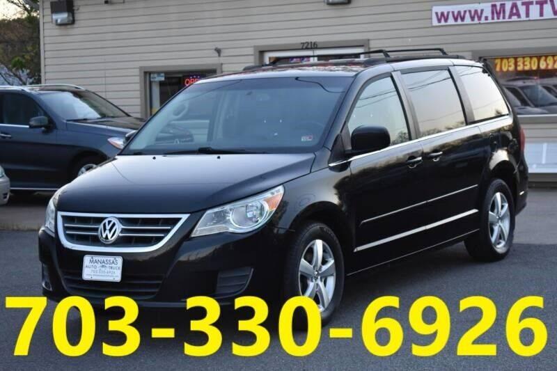 2011 Volkswagen Routan for sale at MANASSAS AUTO TRUCK in Manassas VA
