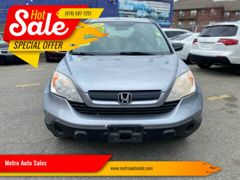 2008 Honda CR-V for sale at Metro Auto Sales in Lawrence MA