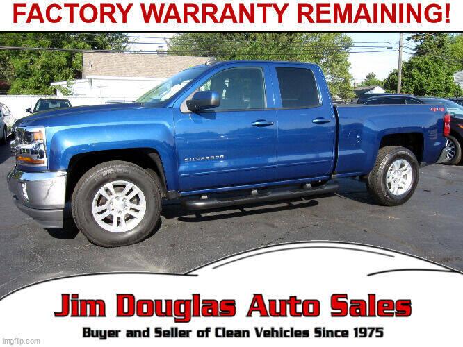 2019 Chevrolet Silverado 1500 LD for sale at Jim Douglas Auto Sales in Pontiac MI