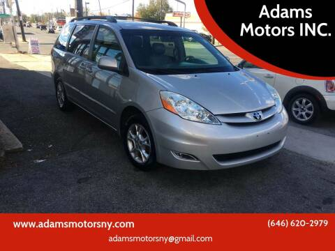 2006 Toyota Sienna for sale at Adams Motors INC. in Inwood NY