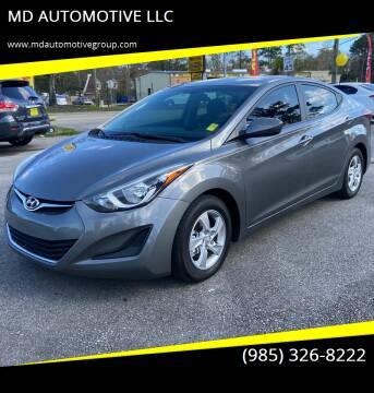 2014 Hyundai Elantra for sale at MD AUTOMOTIVE LLC in Slidell LA