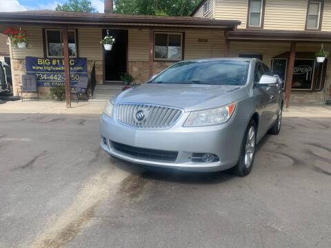 2012 Buick LaCrosse for sale at BIG #1 INC in Brownstown MI