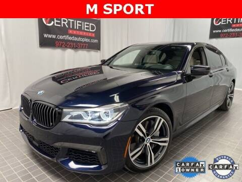 2019 BMW 7 Series for sale at CERTIFIED AUTOPLEX INC in Dallas TX