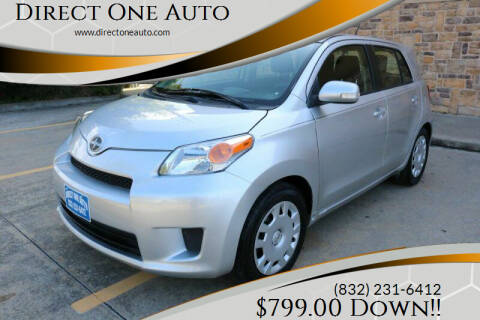 2012 Scion xD for sale at Direct One Auto in Houston TX