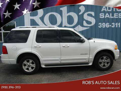 2004 Ford Explorer for sale at Rob's Auto Sales - Robs Auto Sales in Skiatook OK