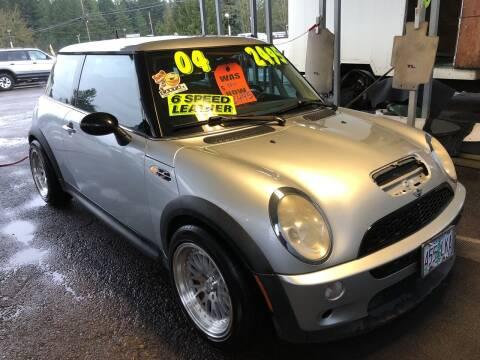 2004 MINI Cooper for sale at Freeborn Motors in Lafayette, OR