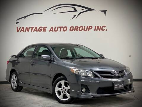2013 Toyota Corolla for sale at Vantage Auto Group Inc in Fresno CA