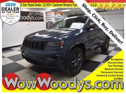 2021 Jeep Grand Cherokee for sale at WOODY'S AUTOMOTIVE GROUP in Chillicothe MO