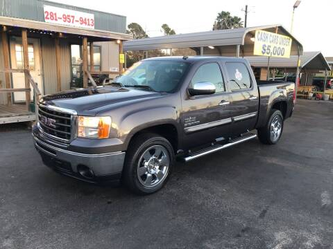 2010 GMC Sierra 1500 for sale at Texas 1 Auto Finance in Kemah TX