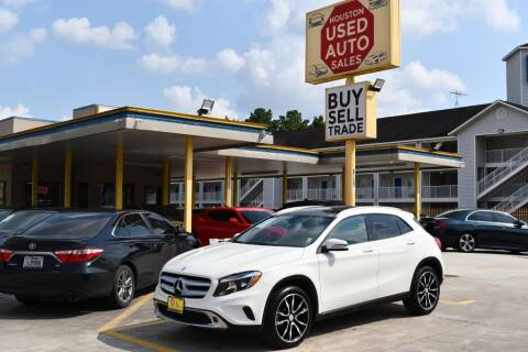 2015 Mercedes-Benz GLA for sale at Houston Used Auto Sales in Houston TX