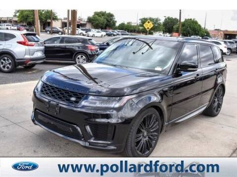 2018 Land Rover Range Rover Sport for sale at South Plains Autoplex by RANDY BUCHANAN in Lubbock TX