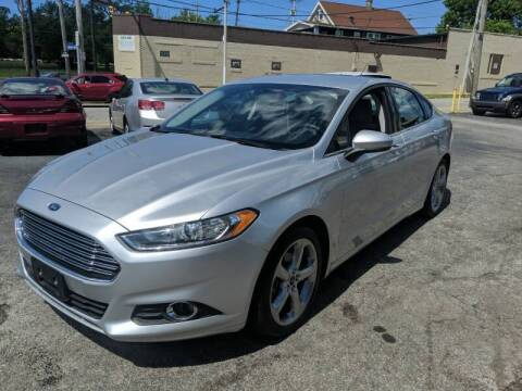 2016 Ford Fusion for sale at Richland Motors in Cleveland OH