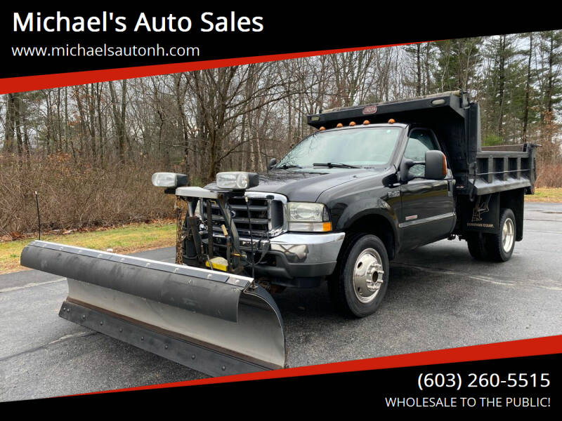 2003 Ford F-450 Super Duty for sale at Michael's Auto Sales in Derry NH