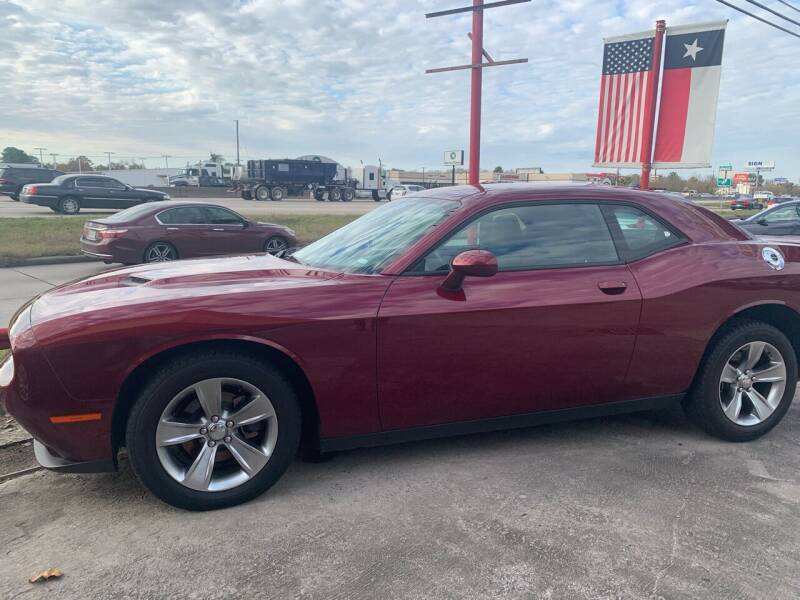 2019 Dodge Challenger for sale at FREDY CARS FOR LESS in Houston TX