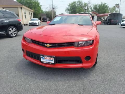 2014 Chevrolet Camaro for sale at Mid Valley Motors in La Feria TX