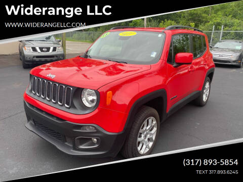 2015 Jeep Renegade for sale at Widerange LLC in Greenwood IN